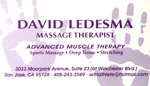 David Ledesma: Massage Therapist